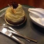 西洋菓子&カフェ シャンティーヒラノ - モンブラン