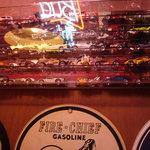 ジービーズカフェ - ミニカーコレクションがいくつもあります