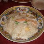 3795337 - 海鮮あんかけ炒飯