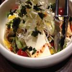 まだん - 豆腐サラダ
