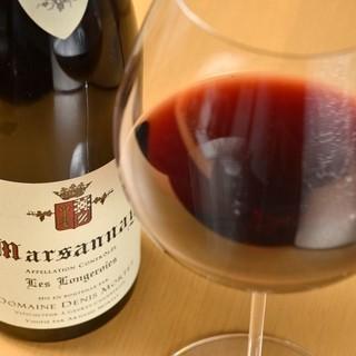 美味しいワインを豊富にご用意♪