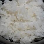 自家製麺 伊藤 - ライス¥200
