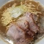 自家製麺 伊藤 - 比内鶏 肉そば¥750 この日は大盛サービスでした