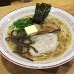 らーめん 葉月 - 醤油バターラーメン850円☆(第二回投稿分②)