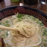 ホっポ屋 - 細麺