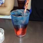 PUB BAR 30 - お店のカラーのお酒です。