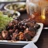 彦しゃん食堂 - 料理写真:テーブルにある ピリッとタレかけたり