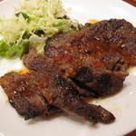 プエン - 牛肉にチリソース