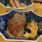 37959151 - アカニシ貝、ちぃイカ酢味噌