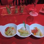 六本木 金魚 - 季節野菜のピクルス