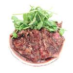 ル・ピックアシエット - 肉メイン:牛フィレのソテー 赤ワインソース '15 3月下旬