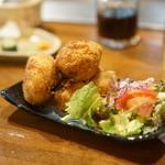 ステーキ屋ひろ - カニクリームコロッケ