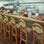 オムライス&cafe STYLE - カウンター席