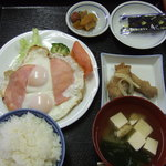 御岳 - 二日目朝食