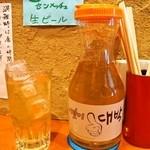 入ル - コーン茶