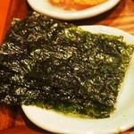 入ル - 韓定食(韓国海苔)
