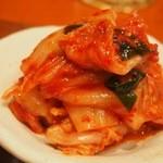 入ル - 韓定食(白菜キムチ)