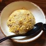 麺や輝の穴 - 半チャーハン