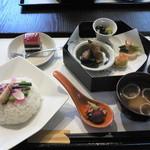 ぺこぺこのはたけ - 春野菜と旬めしご膳(700円)