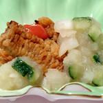 和匠よし乃 - 鱧と玉ねぎの酢の物