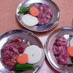 バーベキューガーデンメーメー - 生サフォーク3種