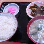バーベキューガーデンメーメー - 定食