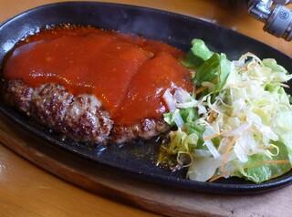 大衆肉料理 榎久 - <2010年4月>ハンバーグ定食680円