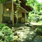 遊季庭かわ嶋 - 日本庭園の中に佇むお蕎麦屋さん