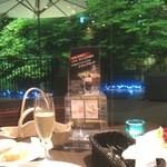 リモネ - ライトアップされた日本庭園がとても綺麗