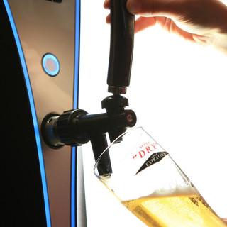 -2℃のビール・ハイボール
