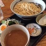 ごさく亭 - つけ麺  冷し平麺  うまいよー(o^^o)