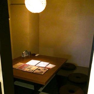 6名様使用可能の半個室もご用意しております。