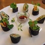 LOHAS - 生ナッツの巻き寿司