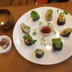 LOHAS - 生ナッツの巻き寿司セット