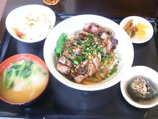 エアーズロック - ステーキ丼300g¥1700(税込)☆♪