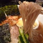 花ぐるま亭 - 冷麺の麺