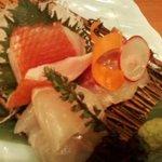 越後のかめ蔵 - 金目・平目・真鯛の3種盛