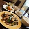 チャイニーズ厨房 華茶花茶 - 料理写真:牛ロースとヒトビロオイスタ炒め定食