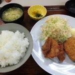 梅の家 - 料理写真:5の付く日限定定食(300円)