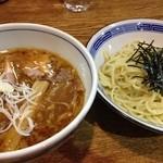 麺ごころ佑庵 - 濃くしょうゆつけ麺