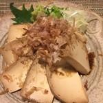 酒縁蕎亭 渉の盃 - クリームチーズかえし醤油漬け