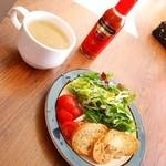 チョイガブ - サラダ・スープ・ハバネロソース