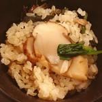 日本料理 松江 和らく - まったけご飯