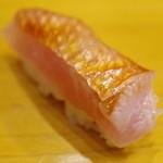 いしやま寿司 - 料理写真:金目鯛