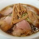 つけそばのさんぷく - チャーシュー麺(大)