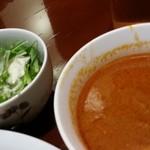 まんぷくカリー24 - スープとサラダ 2015.5