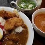 まんぷくカリー24 - カレー盛り 2015.5