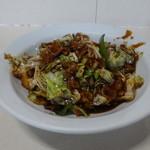 邑楽亭 - 肉とキャベツ炒