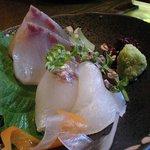 和彩dining 花 - 季節のお刺身2点盛り