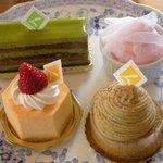 3800114 - 美味しくて,都会的なセンスのケーキ